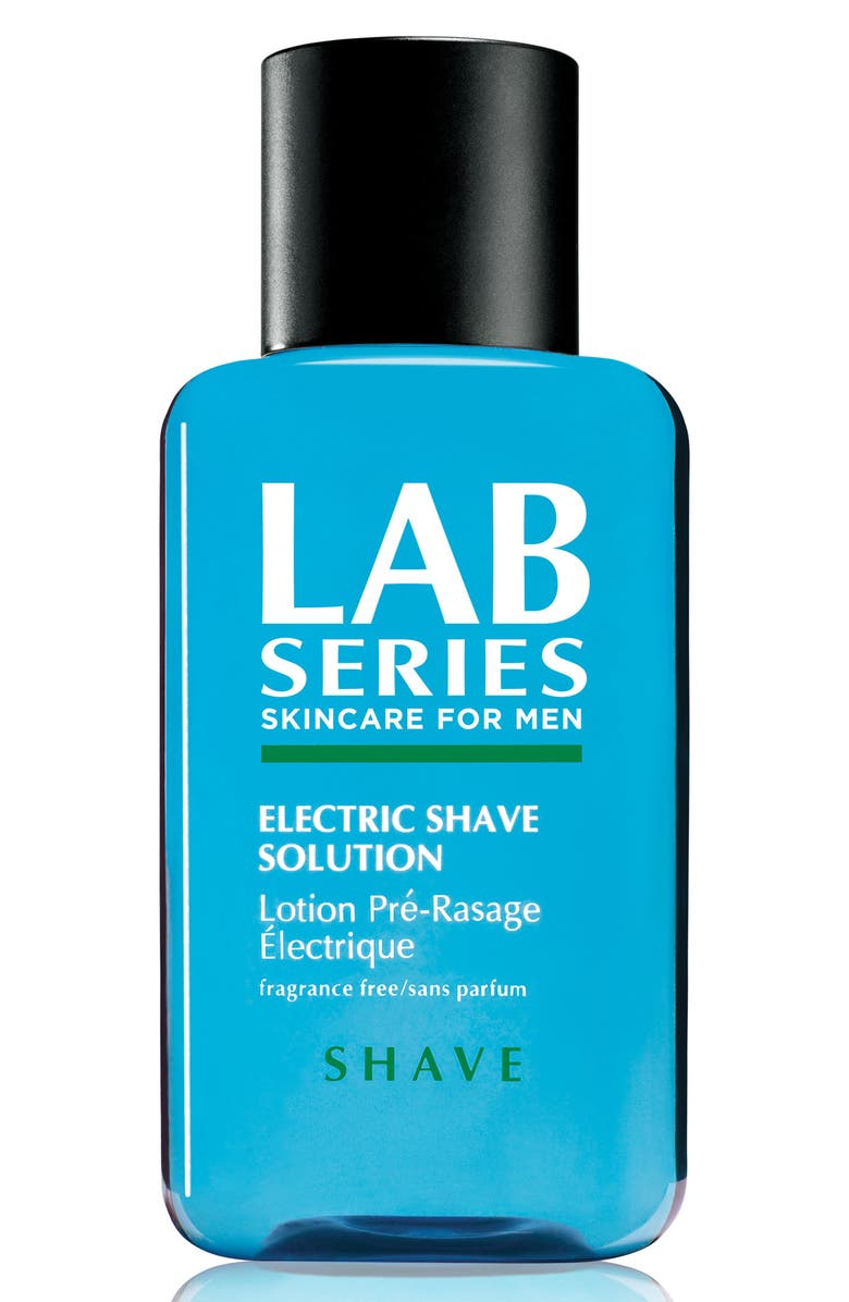 LAB SERIES SKINCARE FOR MEN Electric Shave Solution, Main, color, NO COLOR
