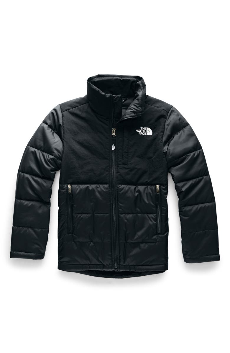 THE NORTH FACE Balanced Rock Heatseeker<sup>™</sup> Water Repellent Jacket, Main, color, TNF BLACK