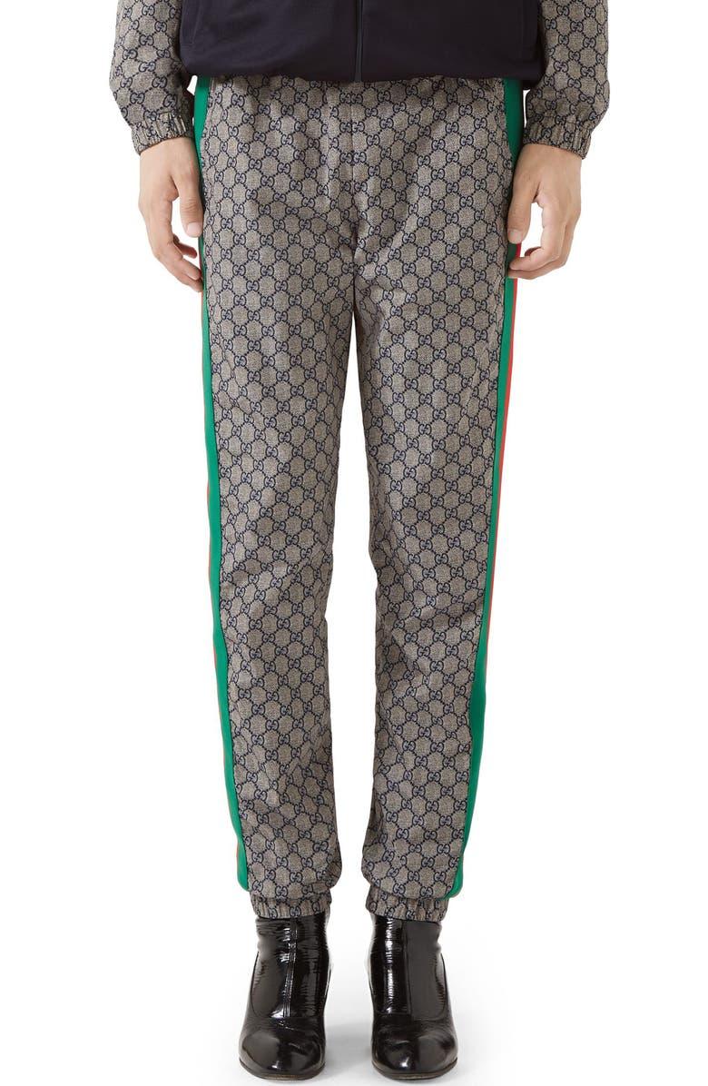 GUCCI Track Pants, Main, color, BLACK