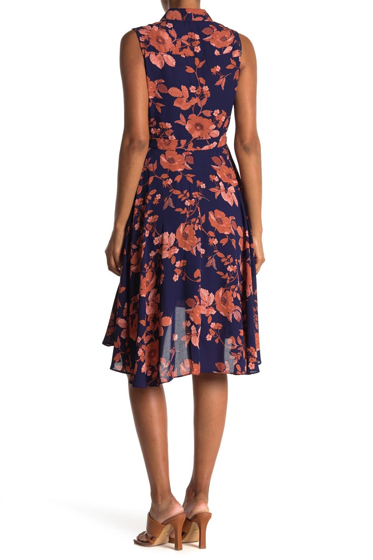 Image of NANETTE nanette lepore Pintuck Pleated High/Low Dress