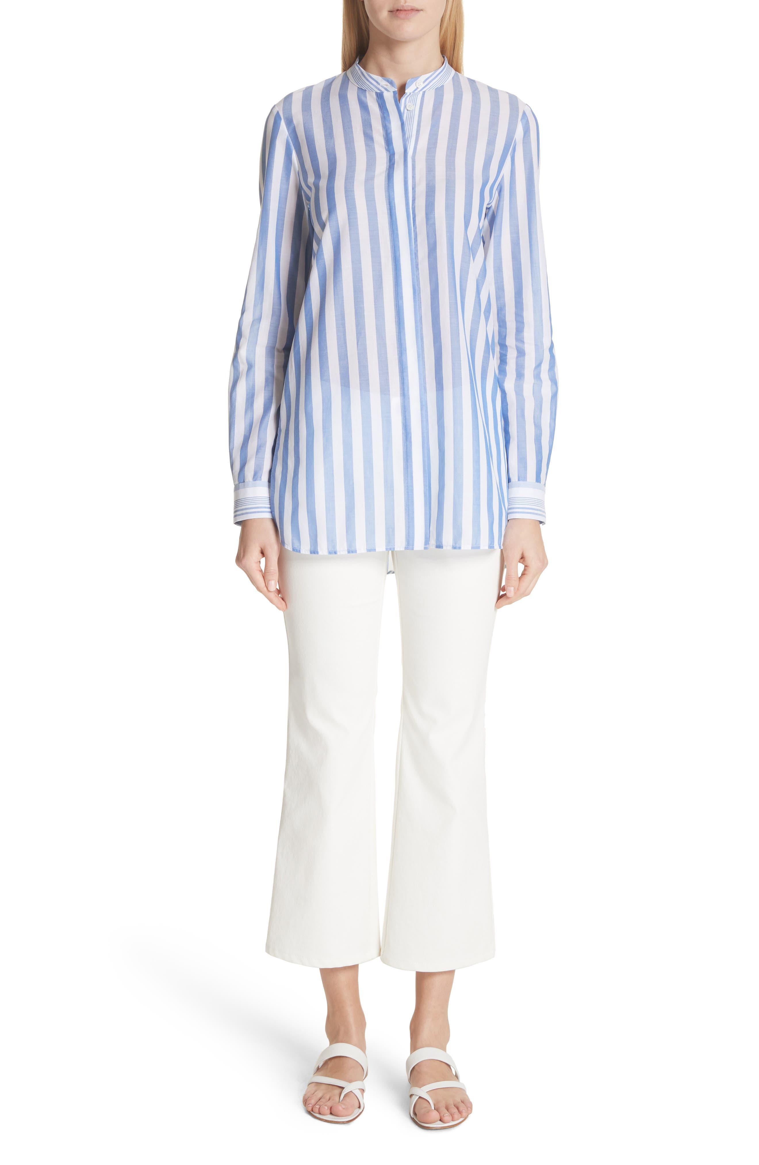 ,                             Mercer Crop Flare Jeans,                             Alternate thumbnail 9, color,                             WHITE