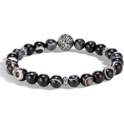 John Hardy Classic Chain Banded Agate Bracelet