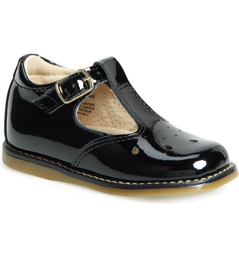 FOOTMATES Harper Mary Jane, Main, color, BLACK PATENT