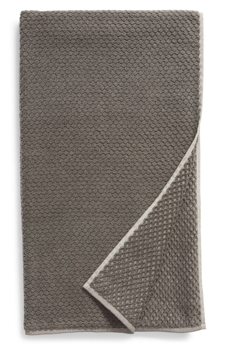 NORDSTROM Tessa Dot Bath Towel, Main, color, GREY MAGNET