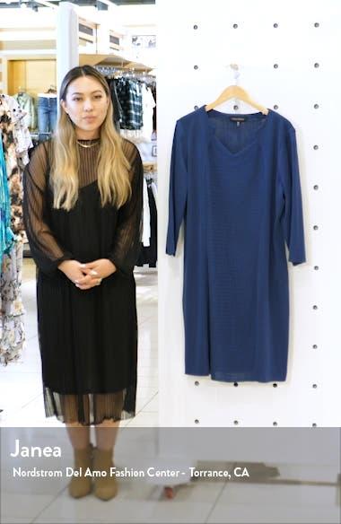 Multi Stitch Sweater Dress, sales video thumbnail