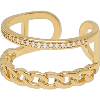Ettika Cubic Zirconia Rope Ring