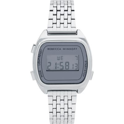 Rebecca Minkoff Digital Bracelet Watch,