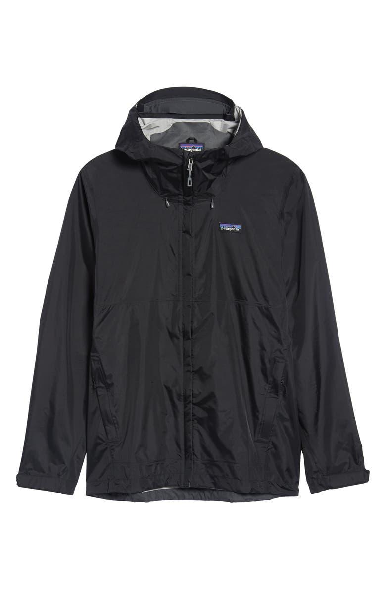 PATAGONIA Torrentshell Packable Rain Jacket, Main, color, BLACK