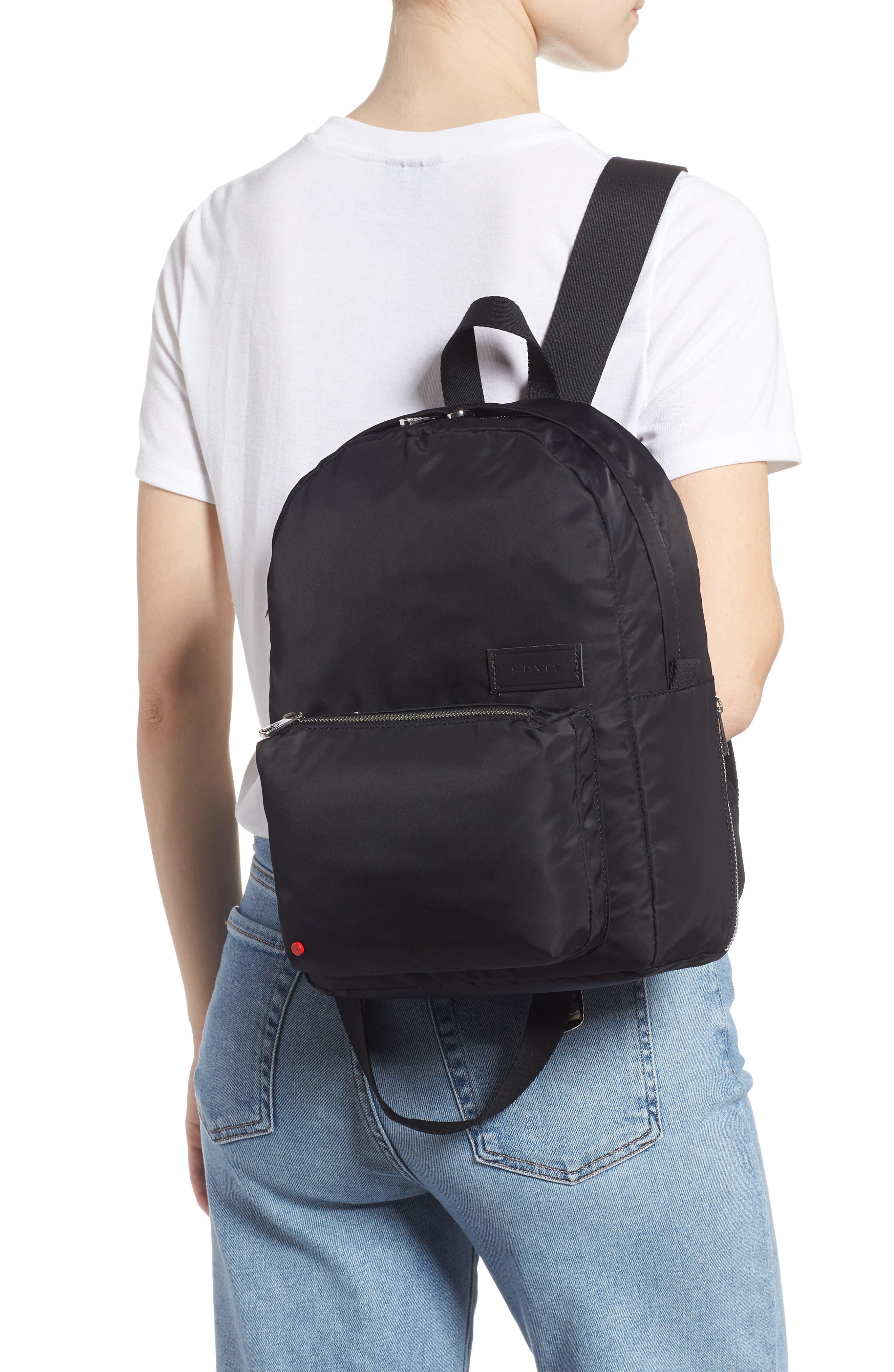,                             The Heights Mini Lorimer Nylon Backpack,                             Alternate thumbnail 2, color,                             001