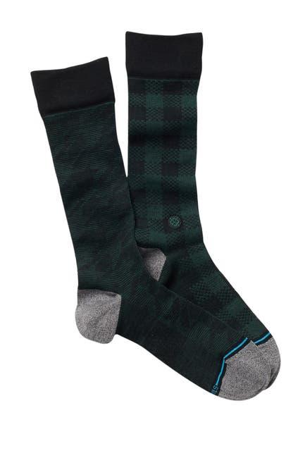 Image of Stance Plaid Crew Socks