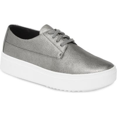 Eileen Fisher Prop Platform Sneaker- Metallic