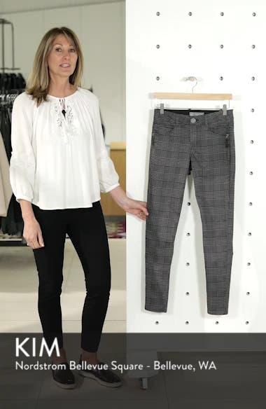 Ab-Solution Plaid Slim Pants, sales video thumbnail