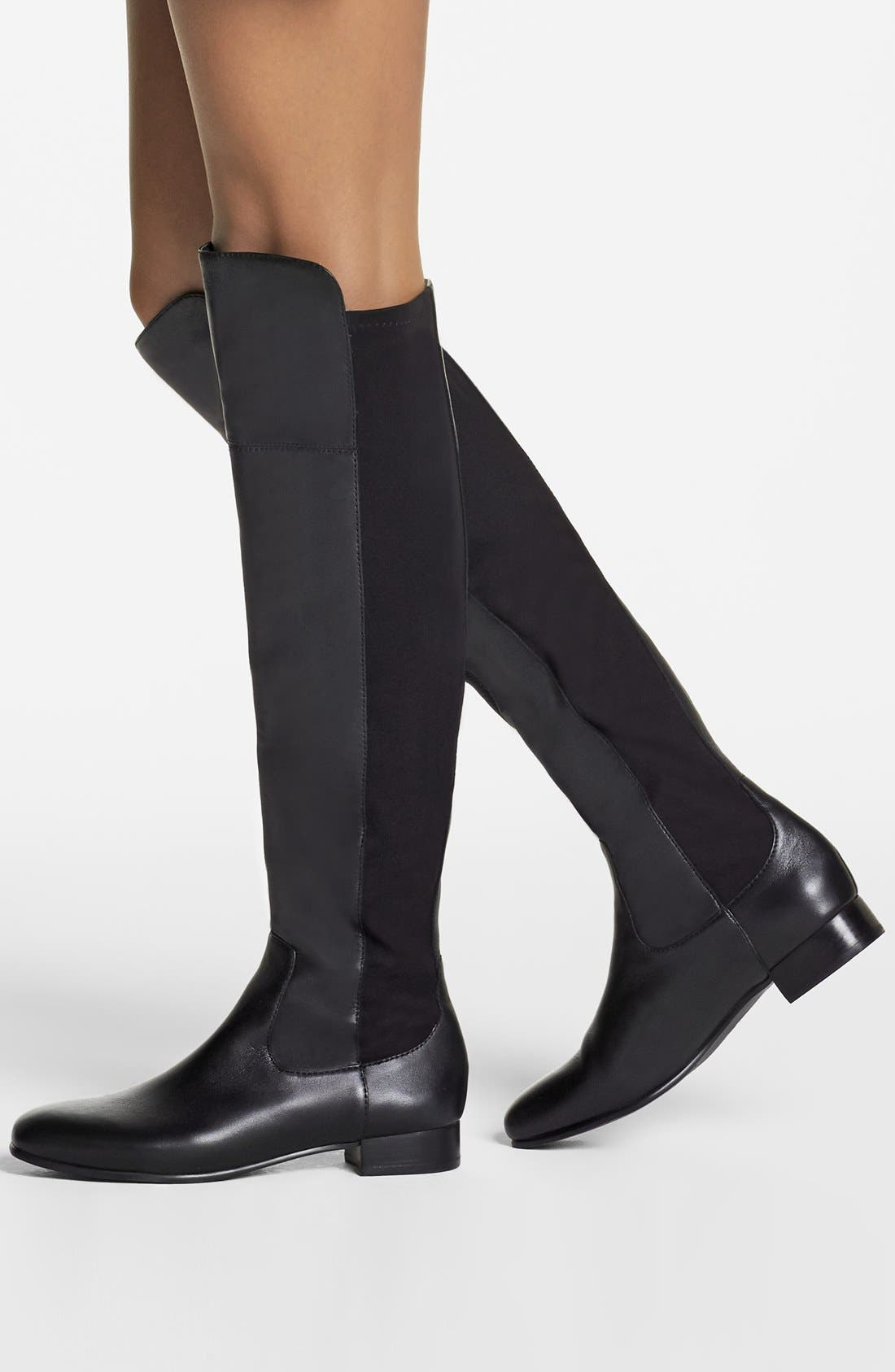 ,                             'Andora' Over the Knee Boot,                             Alternate thumbnail 5, color,                             001