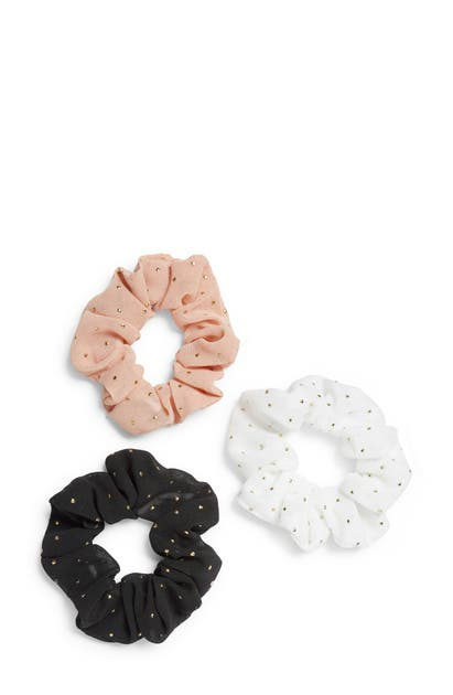 8 Other Reasons Accessories ASSORTED 3-PACK POLKA DOT SCRUNCHIES