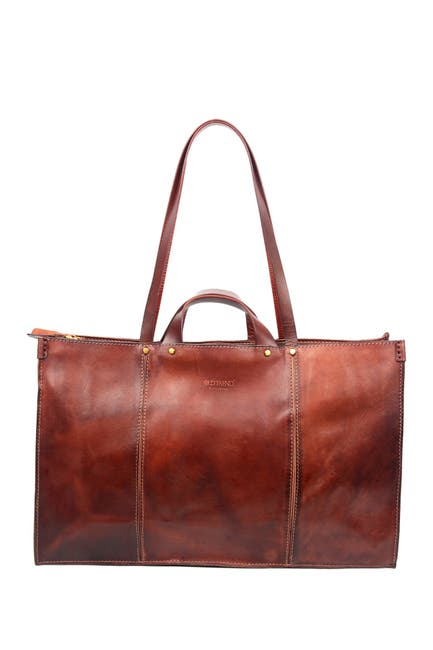 Image of Old Trend Sandstorm Leather Tote Bag