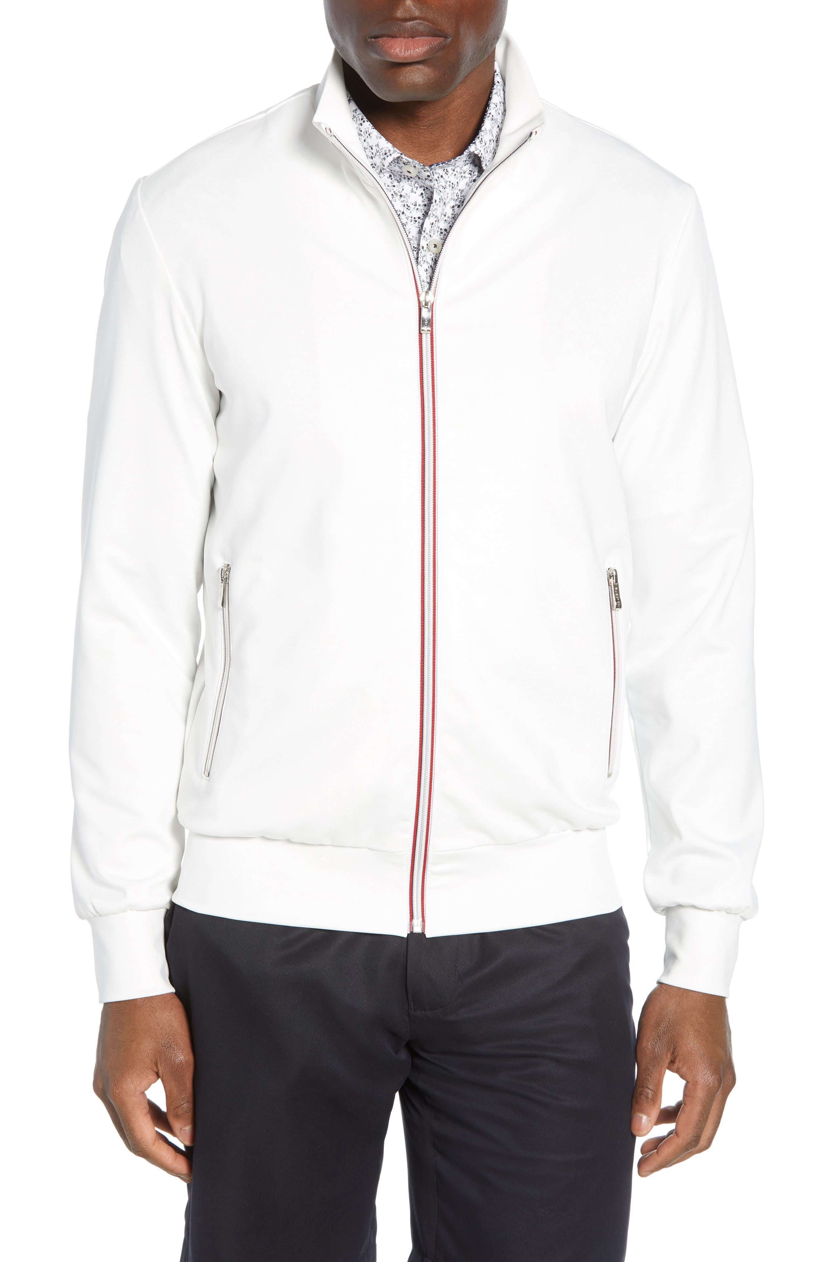 men's bugatchi track jacket