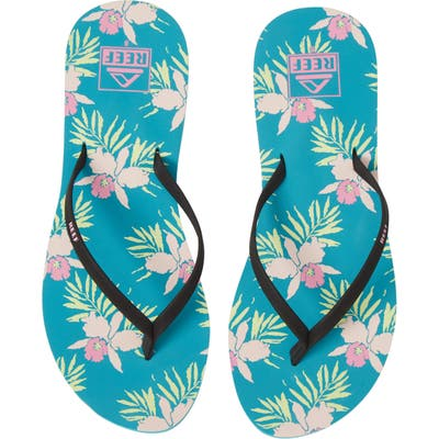 Reef Bliss-Full Flip Flop, Green