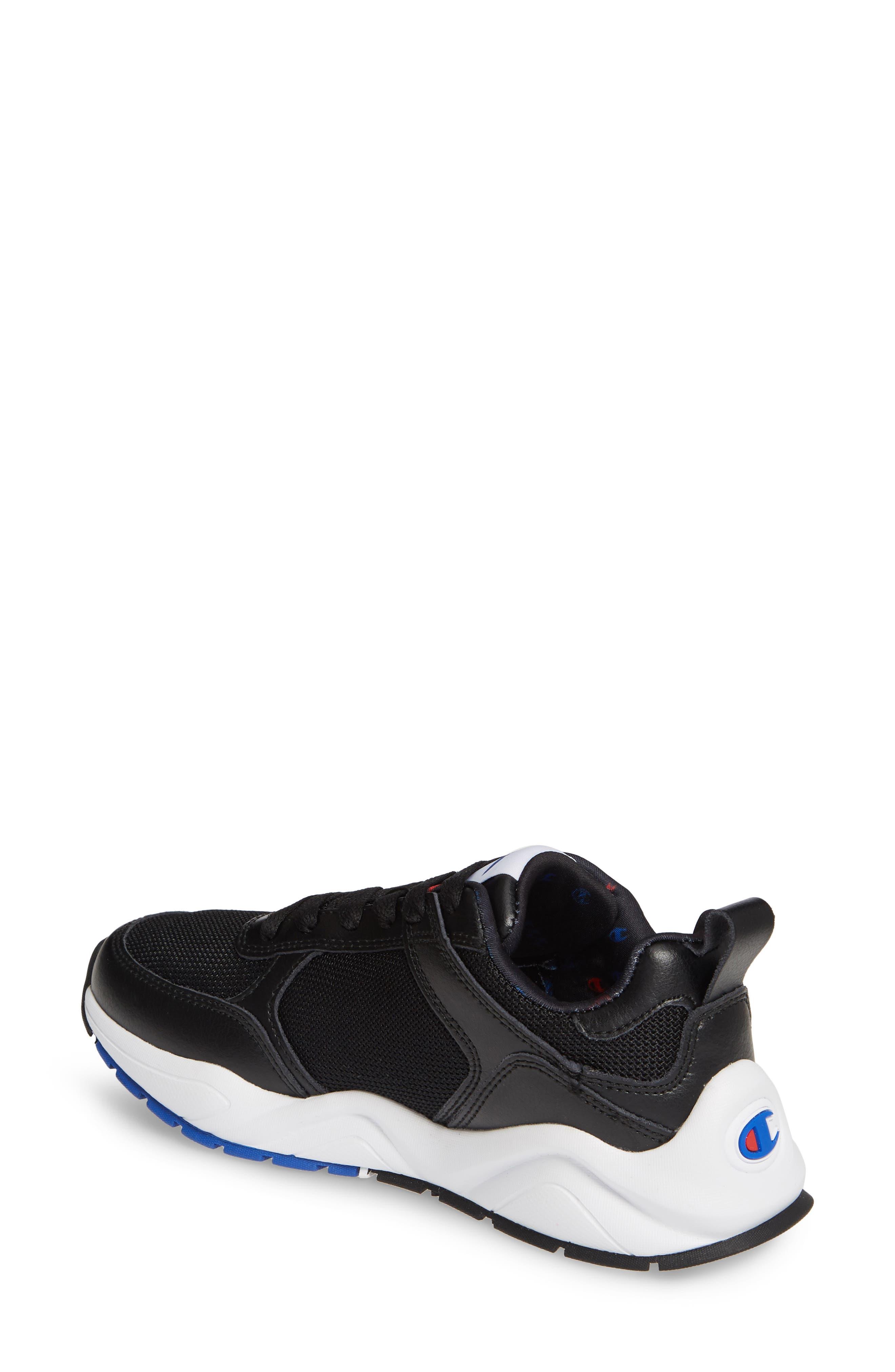 ,                             93 Eighteen Classic Sneaker,                             Alternate thumbnail 2, color,                             BLACK
