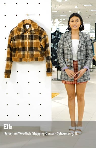 Brooklyn Crop Fleece Jacket, sales video thumbnail