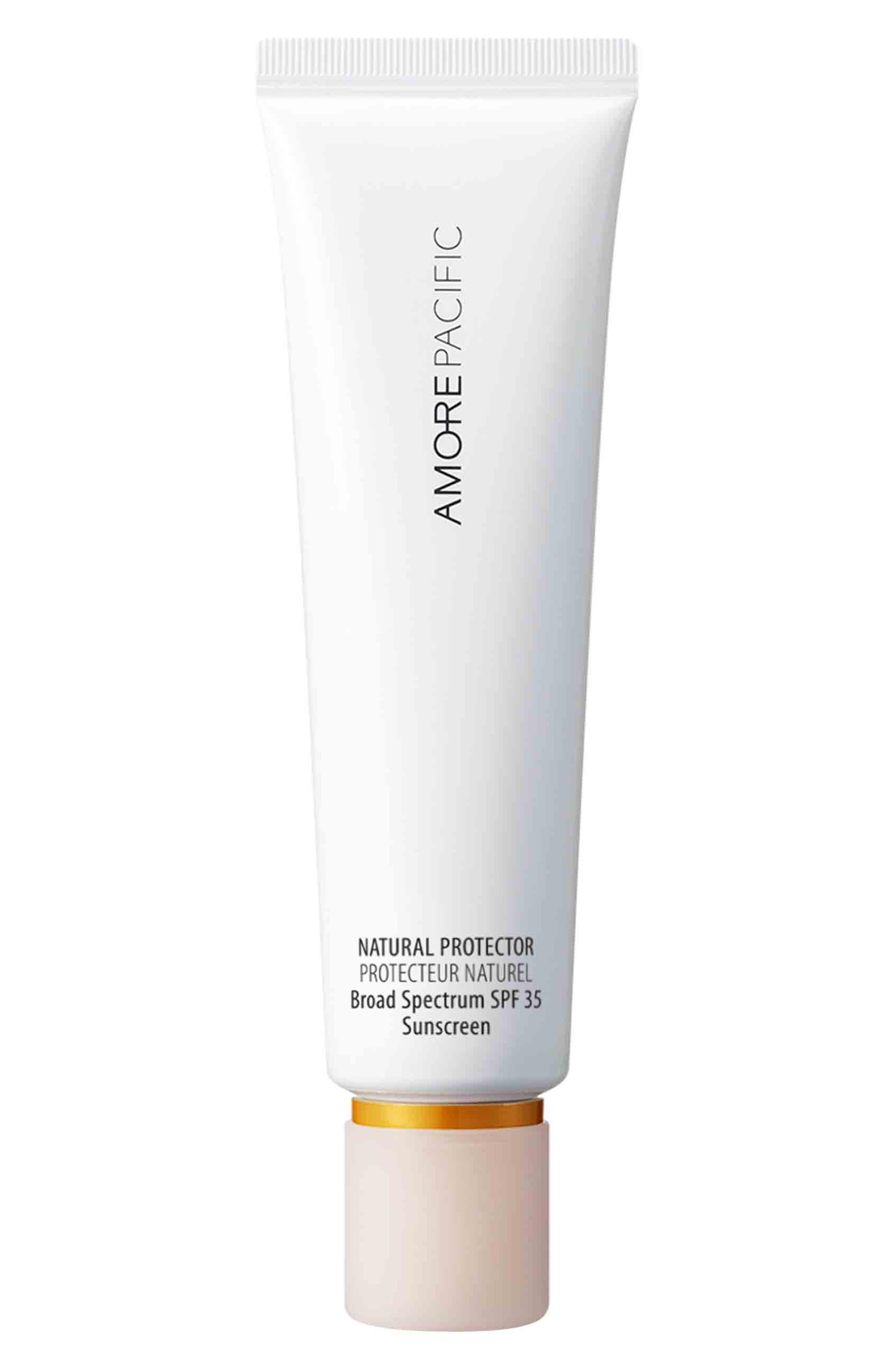 ,                             'Natural Protector' Hydrating Sunscreen SPF 30 PA+++,                             Main thumbnail 1, color,                             NO COLOR