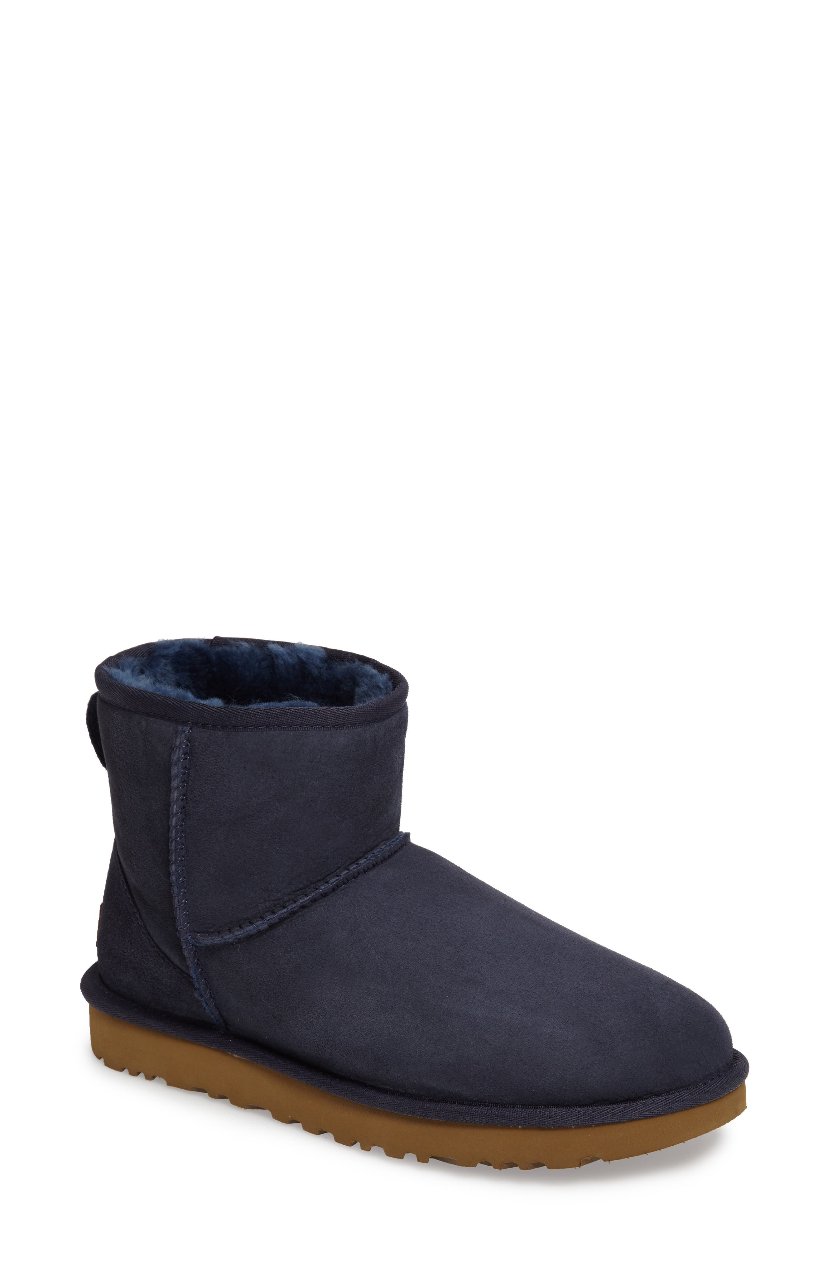 ,                             Classic Mini II Genuine Shearling Lined Boot,                             Main thumbnail 142, color,                             400