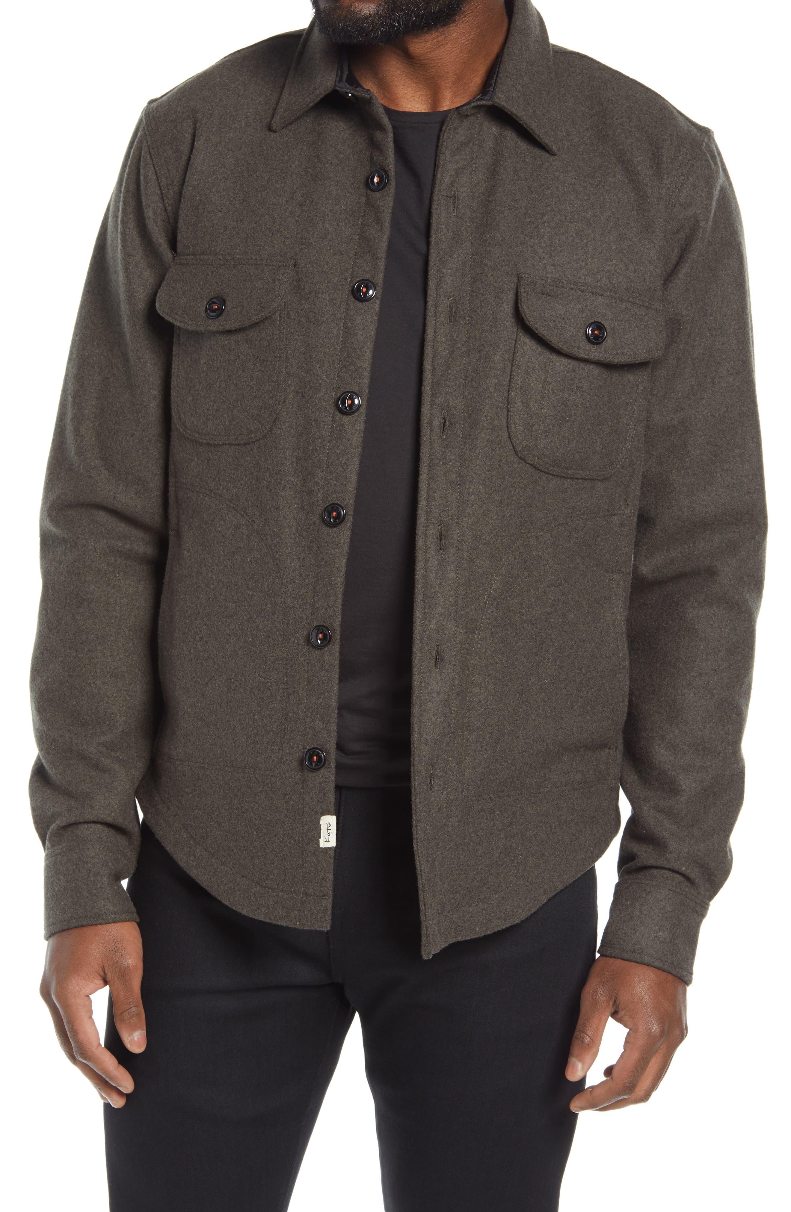 Heavy Melton Wool Jacket