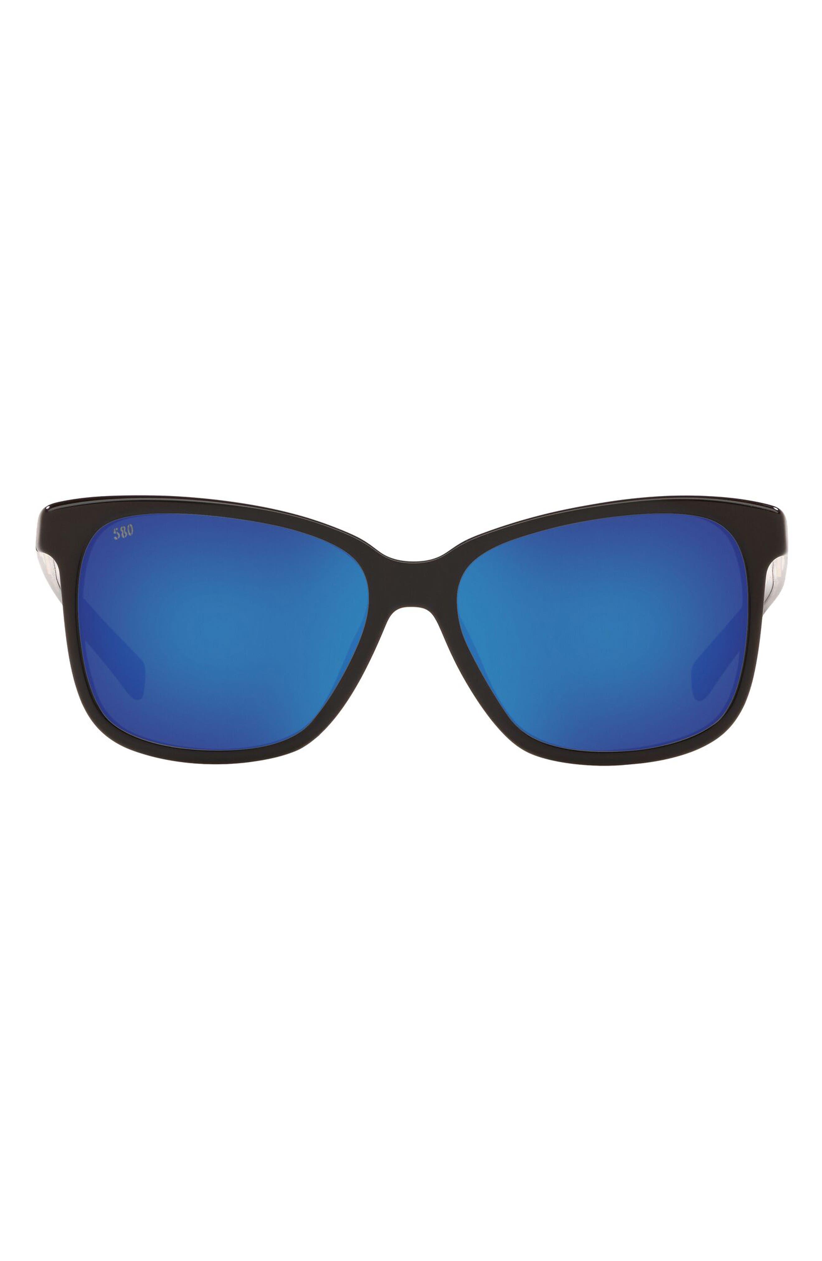 Phantos 57mm Polarized Sunglasses