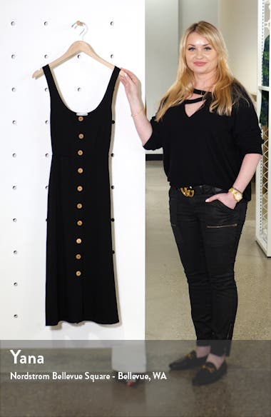 Ari Button Front Stretch Tencel<sup>®</sup> Lyocell Dress, sales video thumbnail