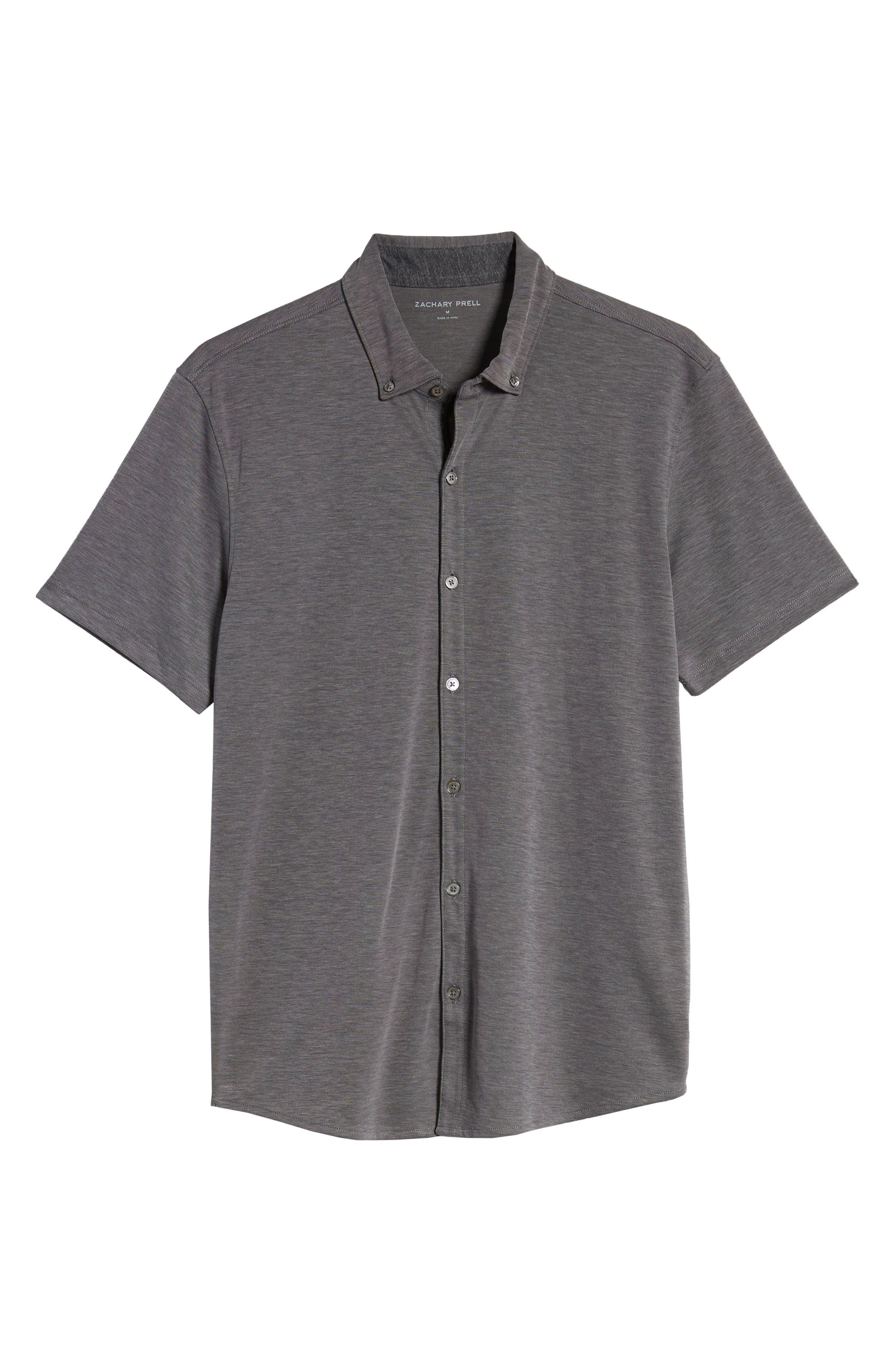 ,                             Caruth Regular Fit Short Sleeve Sport Shirt,                             Alternate thumbnail 12, color,                             020
