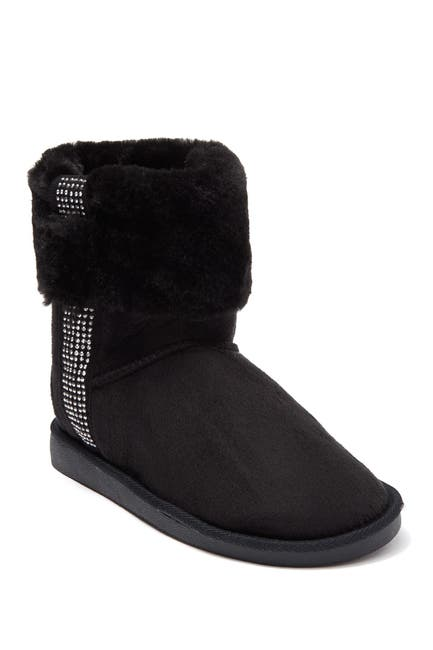 Image of bebe Studded Faux Fur Lined Winter Boot