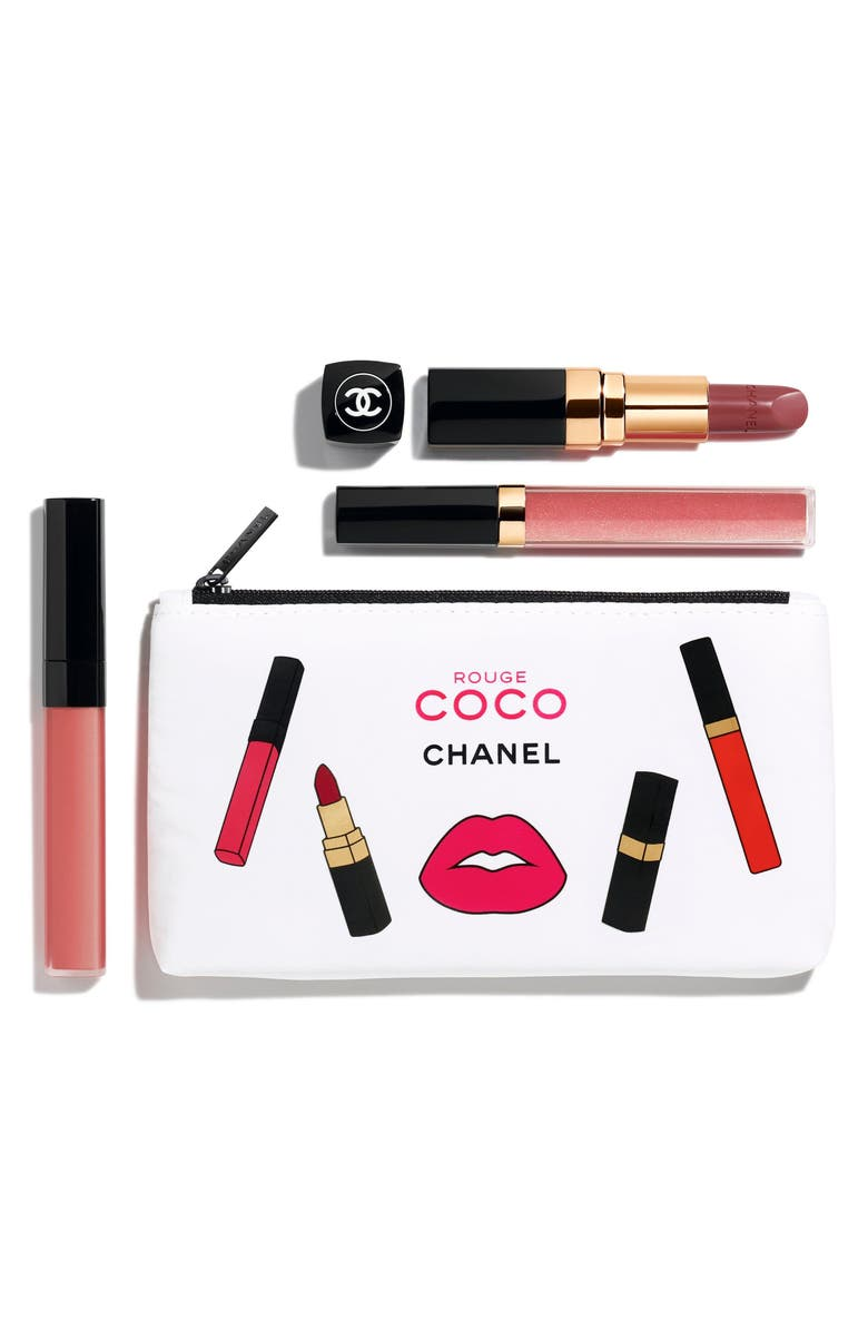CHANEL ROUGE COCO PINK <br />Set, Main, color, 000
