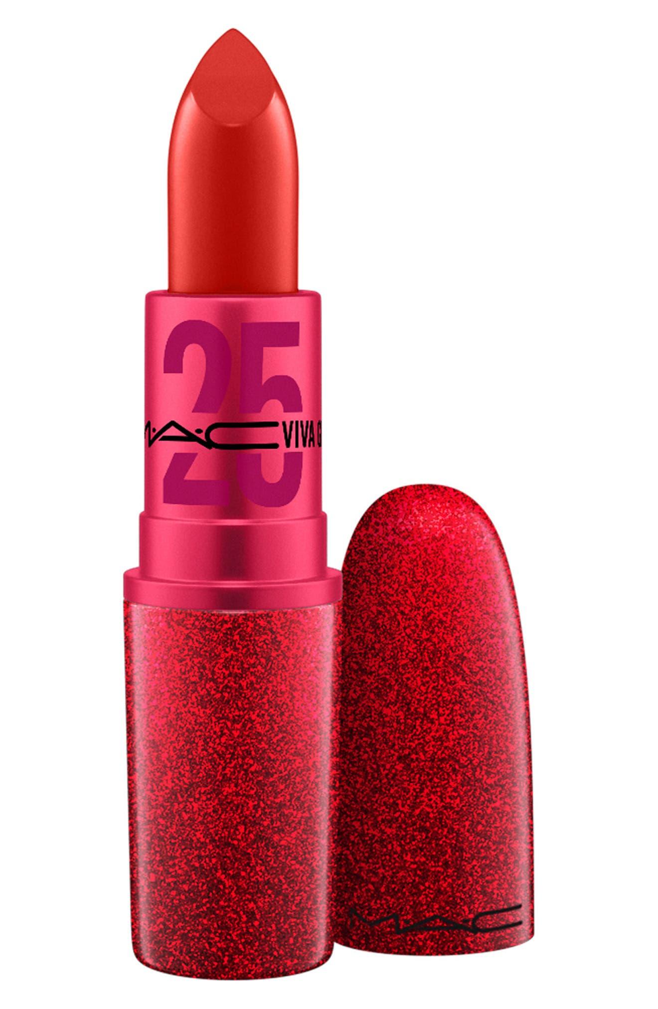 ,                             MAC Viva Glam 25 Lipstick,                             Main thumbnail 1, color,                             NO COLOR