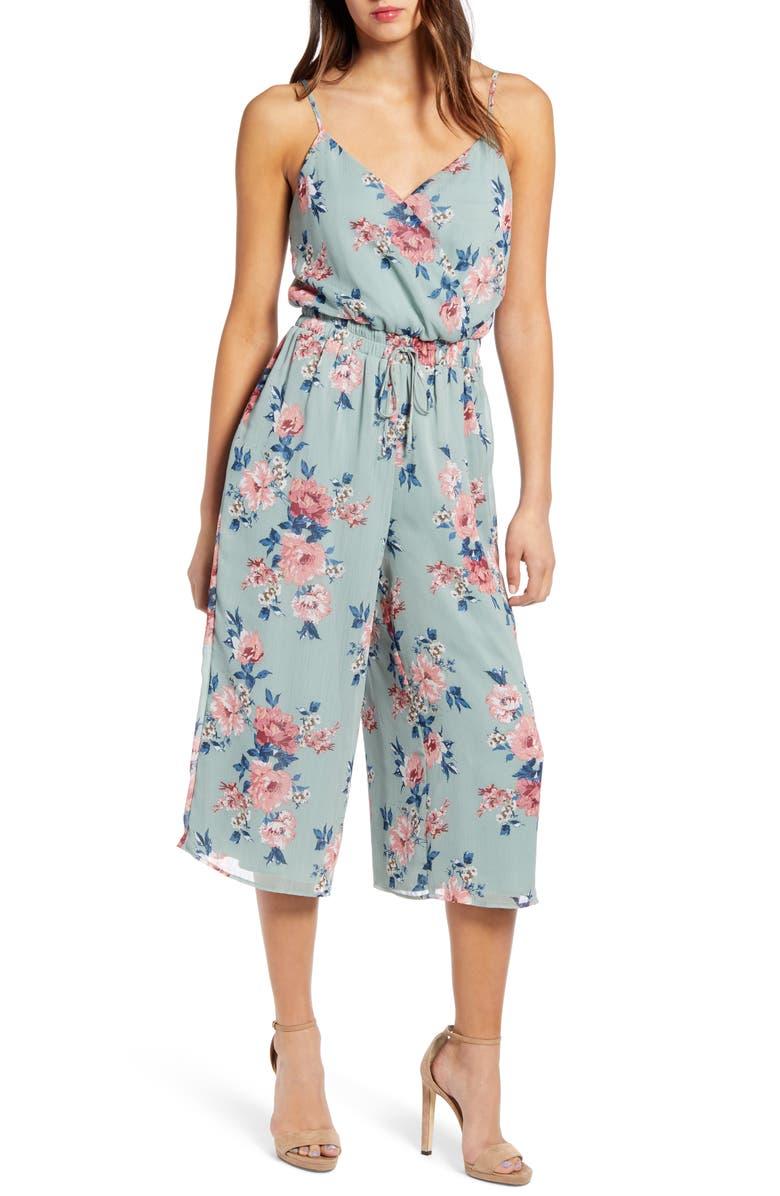 ROW A Culotte Jumpsuit, Main, color, 300