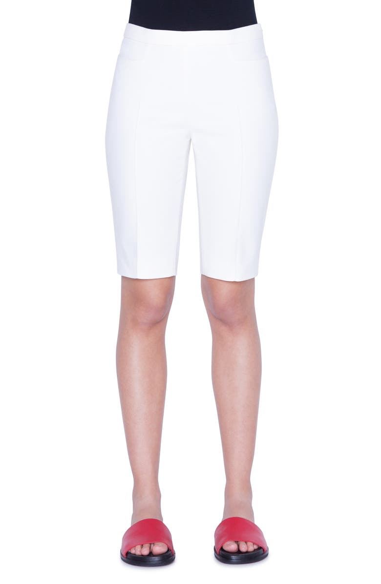 AKRIS PUNTO Franca Shorts, Main, color, CREAM