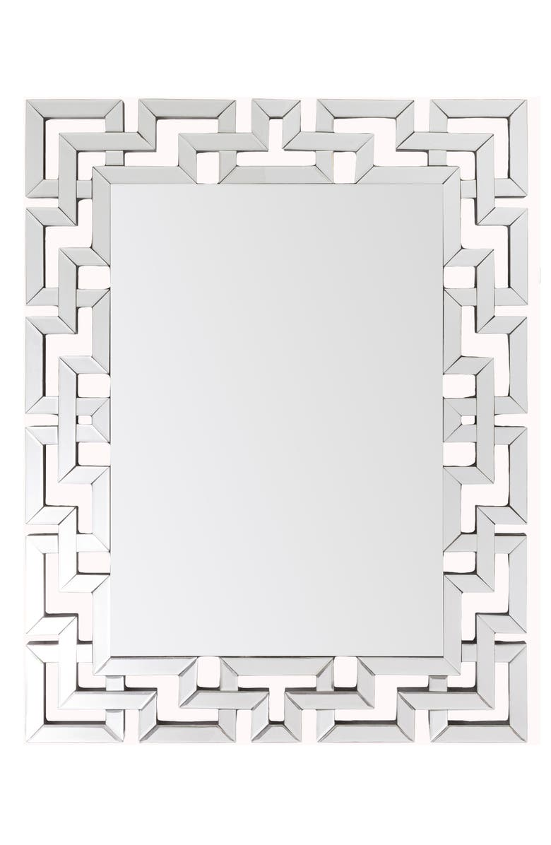 SURYA HOME Radcliff Beveled Mirror, Main, color, SILVER