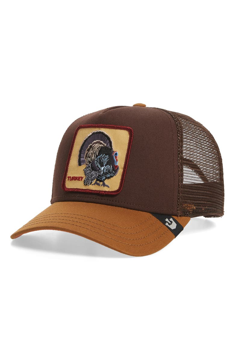 GOORIN BROS. Turkey Trucker Hat, Main, color, 201
