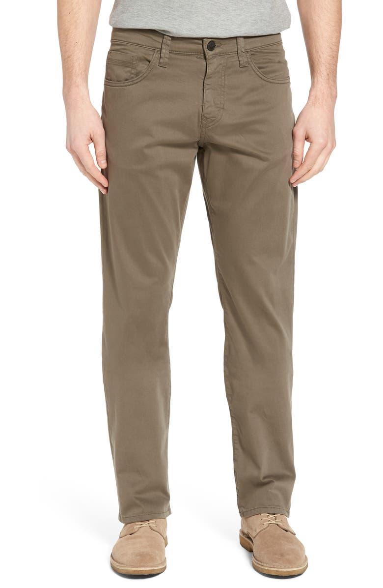 MAVI JEANS Matt Relaxed Fit Twill Pants, Main, color, DUSTY OLIVE