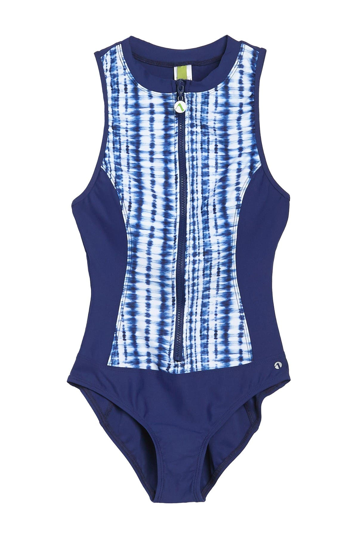 Image of NEXT Retrograde Zip One-Piece Swimsuit
