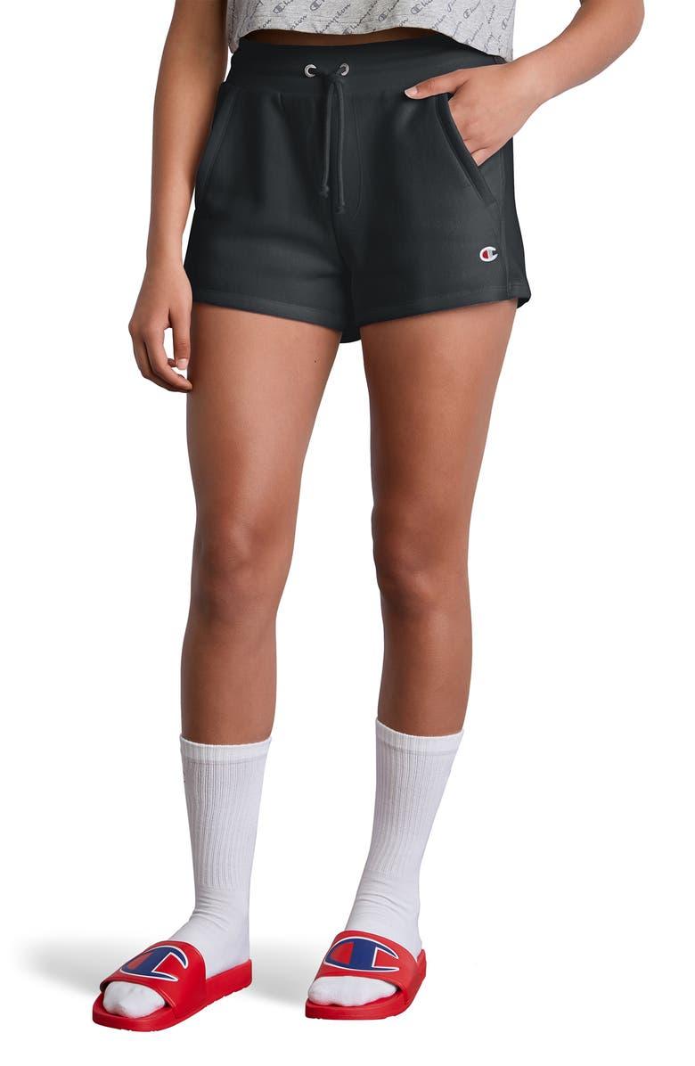 CHAMPION Reverse Weave Shorts, Main, color, 001