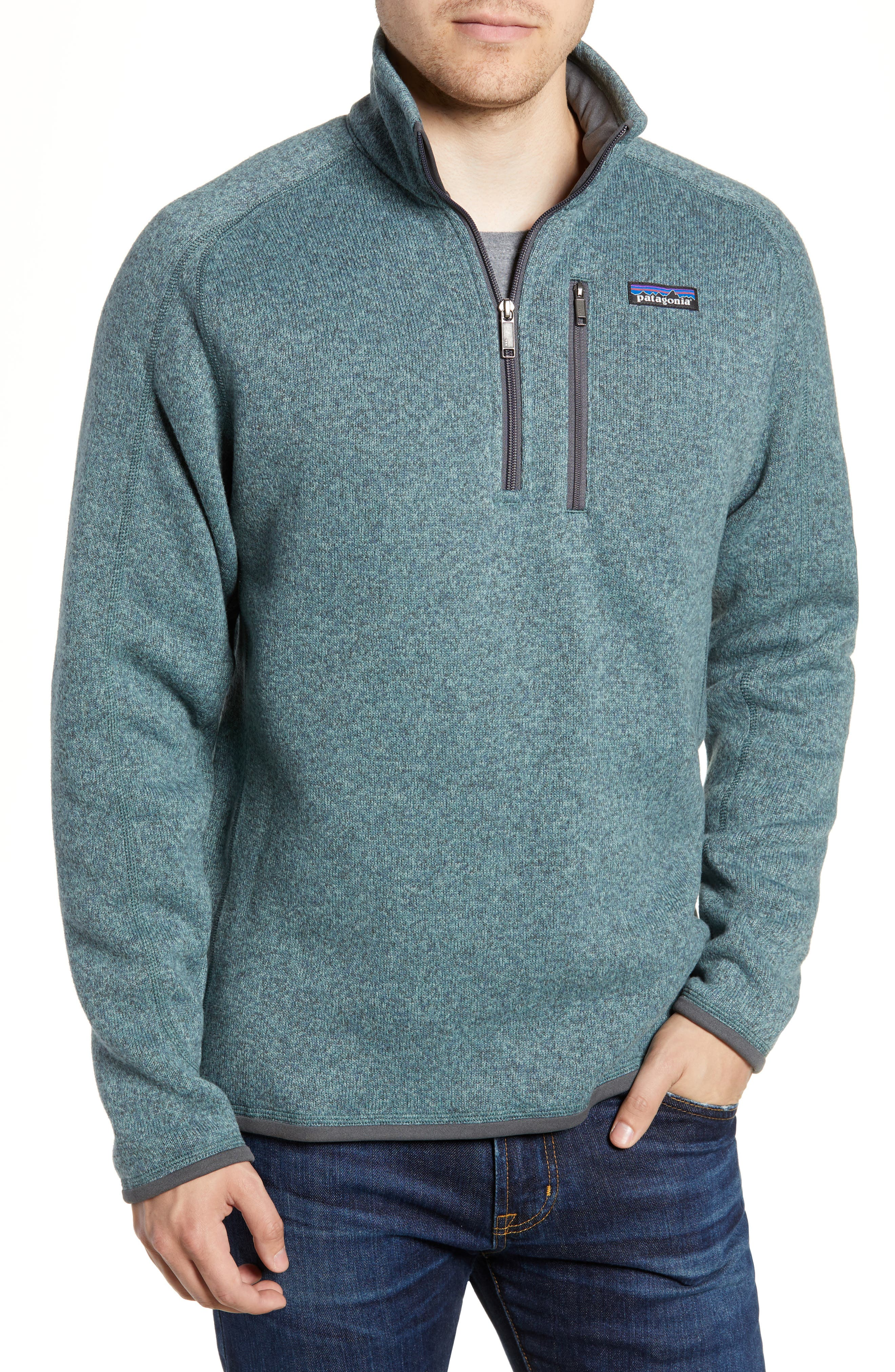 ,                             Better Sweater Quarter Zip Pullover,                             Main thumbnail 64, color,                             410