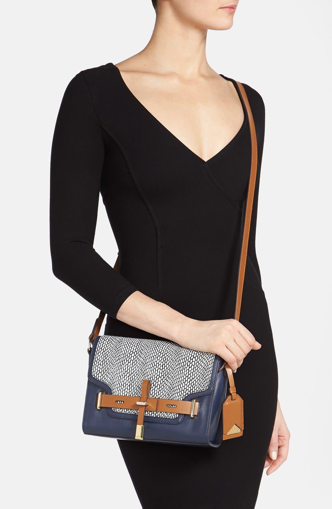 ,                             'Max' Leather Crossbody Bag,                             Alternate thumbnail 21, color,                             490