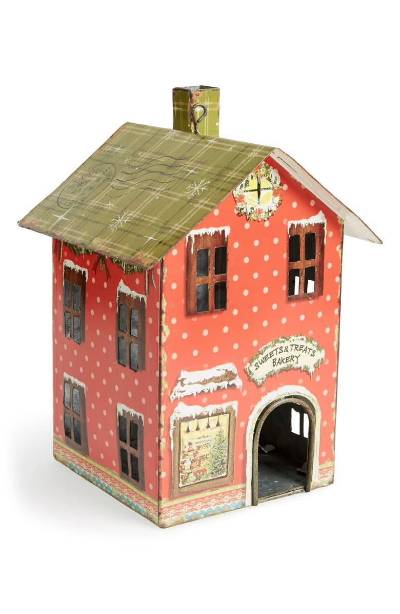 Creative Co-Op Tin House Ornament | Nordstrom