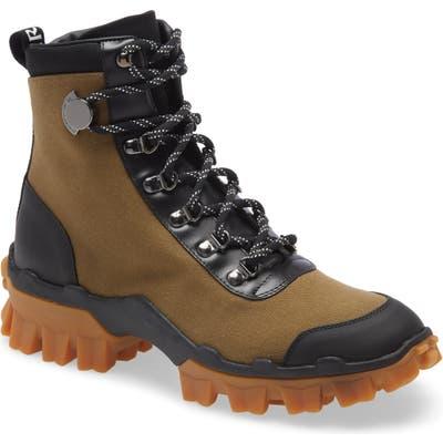 Moncler Helis Hiking Boot, Green