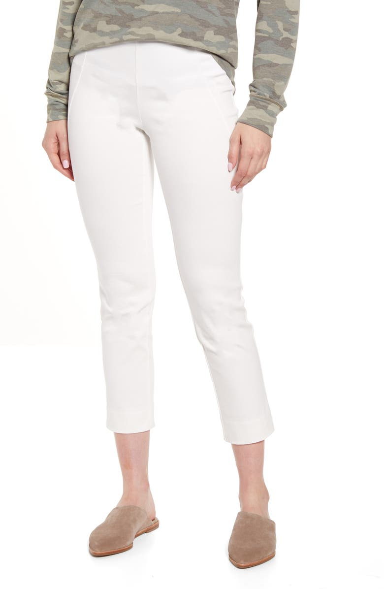 LYSSÉ Glynn Ankle Leggings, Main, color, OFF WHITE