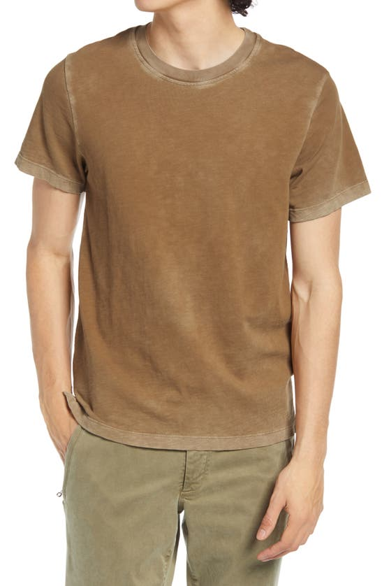 Cotton Citizen Presley Slub T-shirt In Vintage Java