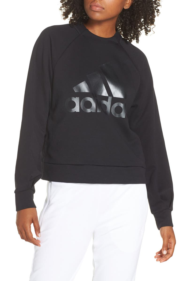 ADIDAS ID Glory Sweatshirt, Main, color, 001