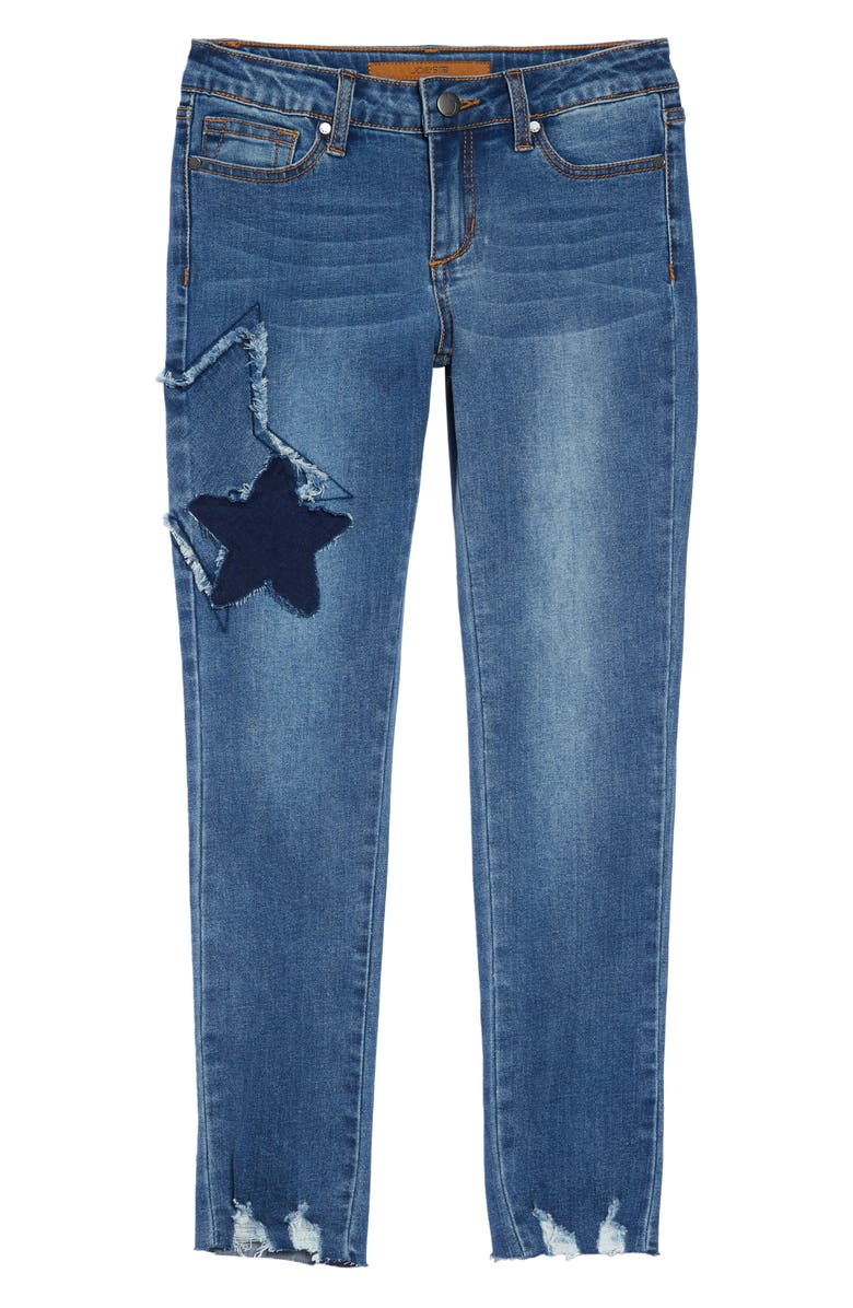 JOE'S Markie Star Patch Skinny Jeans, Main, color, 401