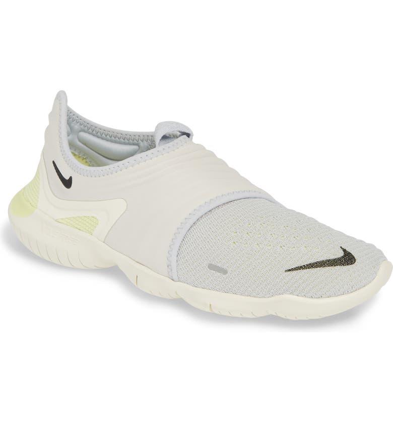 37b4220671 Free RN Flyknit 3.0 Running Shoe, Main, color, PURE PLATINUM/ BLACK/