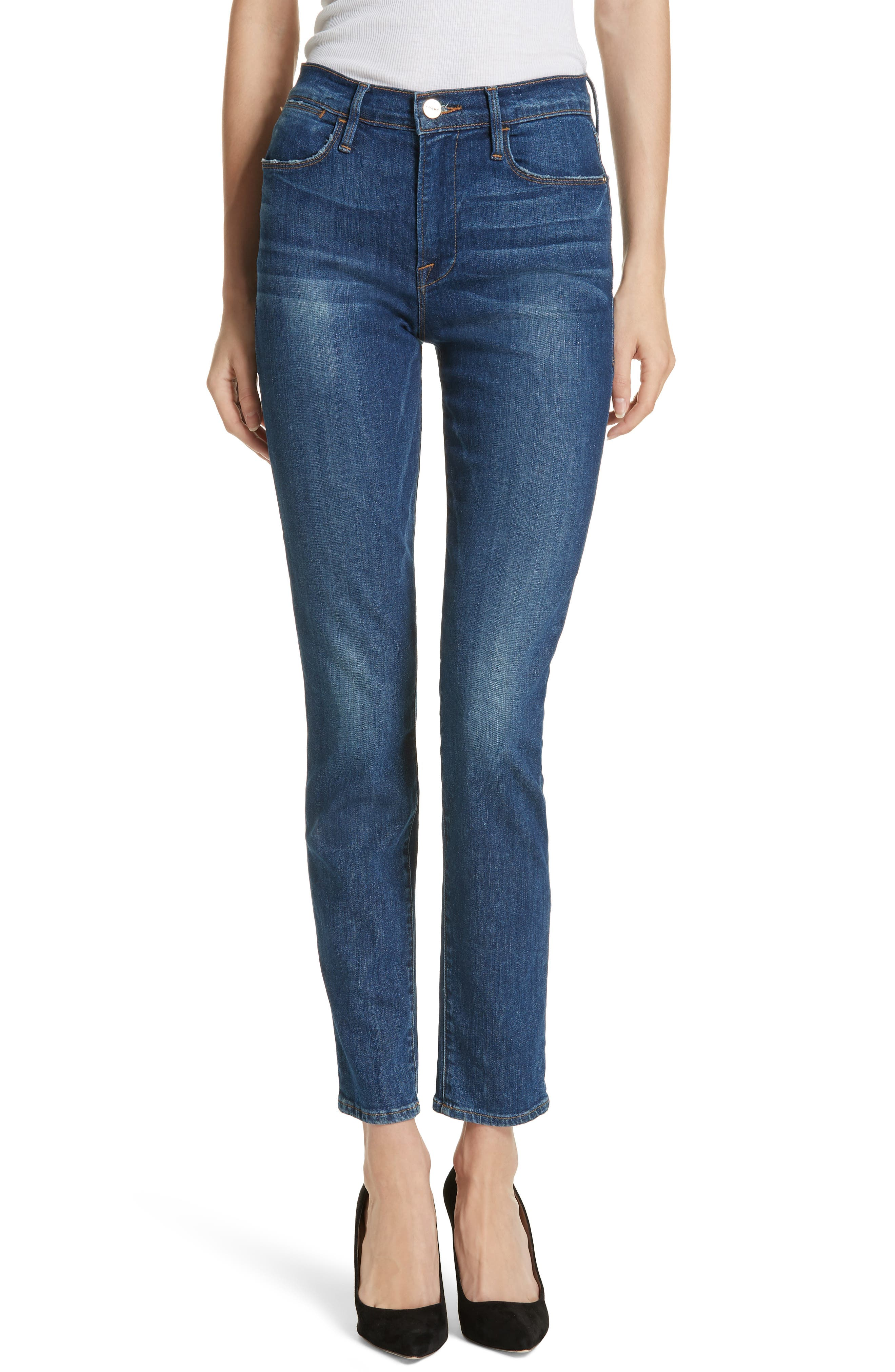 Women's Frame Le High Skinny Jeans