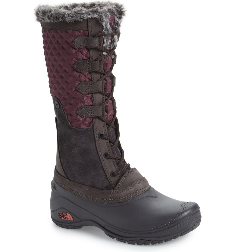 THE NORTH FACE Shellista III Tall Waterproof Insulated Winter Boot, Main, color, 930